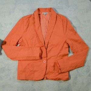 Buffalo David Bitton Peach Button Up L/S Jacket